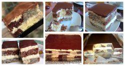 Šareni kremasti kolač