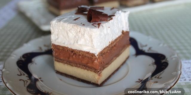Čokoladna pita sa tri nadjeva