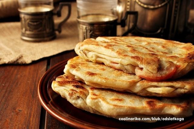 Marokanske palačinke s mesom -msemen-